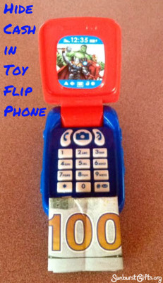 toy-flip-phone-hide-cash-thoughtful-gift-idea