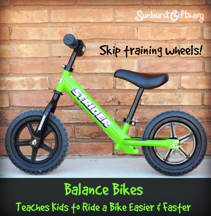 Balance Bike Helps Kids Learn To Ride Faster Thoughtful