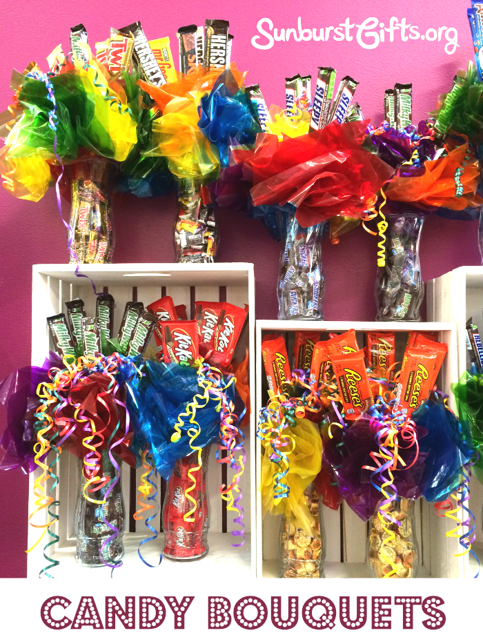 A Candy Bouquet For Any Occasion Thoughtful Gifts