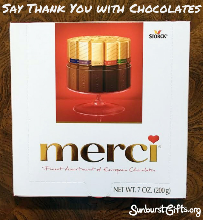 Say Thank You With Merci European Chocolates - Thoughtful Gifts ...