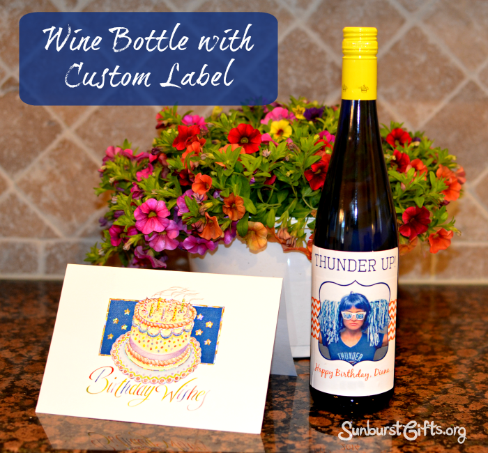 Wine Bottle With Custom Label Thoughtful Gifts