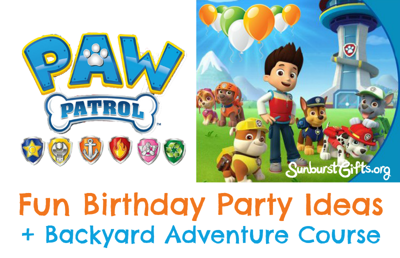 PAW Patrol Birthday Party Theme