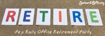 pep-rally-retirement-office-party-thoughtful-gift-idea