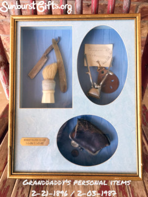 framed-granddaddys-personal-items-thoughtful-gift-idea