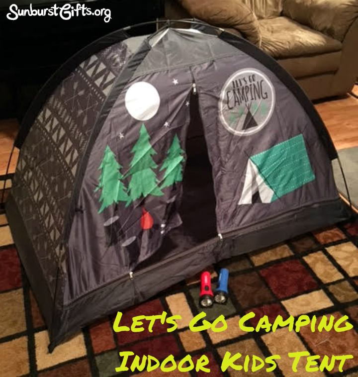 Let Kids Camp Out Inside With Indoor Tent