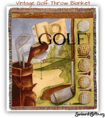 golf-throw-blanket-thoughtful-gift-idea