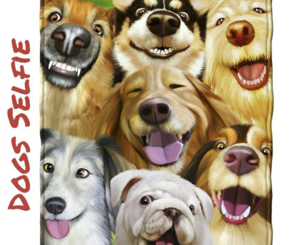 Dogs-selifie-throw-blanket-thoughtful-gift-idea