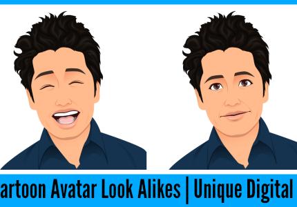 cartoon-avatar-digital-illustration-gift