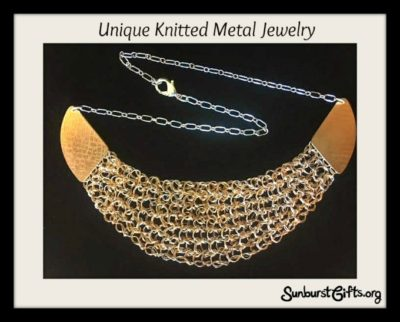 unqiue-knitted-metal-necklace-jewelry-thoughtful-gift-idea