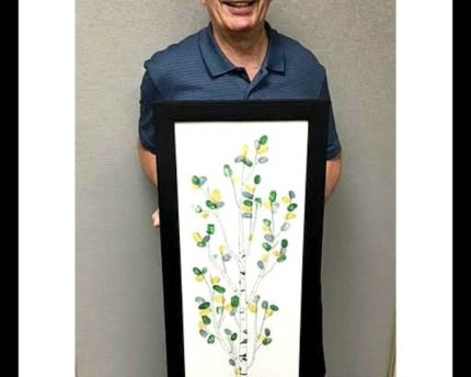 thumbprint-co-workers-family-tree-retirement-thoughtful-gift