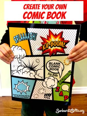 create-own-comic-book-kids-gift