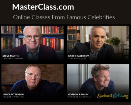 masterclass.com-online-classes-famous-celebrities-gift